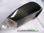 CARBON FIBER TAIL LIGHT HOUSINGS 06-07 GSXR 600/750