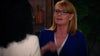 Marg Helgenberger wearing ALEXANDER DAAS 'Nina' eyeglasses on CBS show All Rise