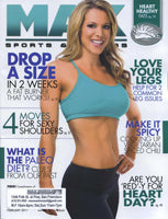 MAX Sports Fitness Magazine 'It's 'Men'-t to be!' - February 2011