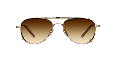 Garrett Leight Linnie 5020 Clip On Sunglasses clip on sunglasses from Daas Optique