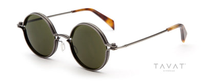 Tavat Soupcan Round M SC001 sunglasses from Daas Optique