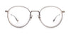 SALT Theodore Antique Silver - Smokey Grey / Demo 48-24-145 Eyeglasses
