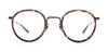 SALT Theodore Black Sand - Bourbon Brown Havana / Demo 48-24-145 Eyeglasses