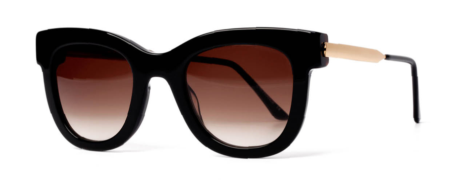 4a4a0c39be Thierry Lasry Sexxxy 101 Black and Gold 50-23-140 Sunglasses