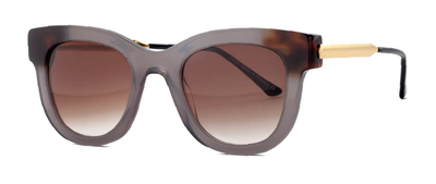 Thierry Lasry Sexxxy 704 Grey and Gold  50-23-140 Sunglasses