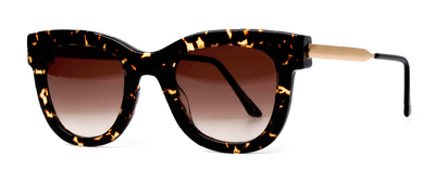 Thierry Lasry Sexxxy 724 Dark Tortoise and Gold 50-23-140 Sunglasses