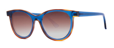Thierry Lasry Vacancy 222 Blue and Biege 53-19-140 Sunglasses