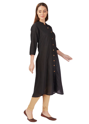 Plain block long Kurti
