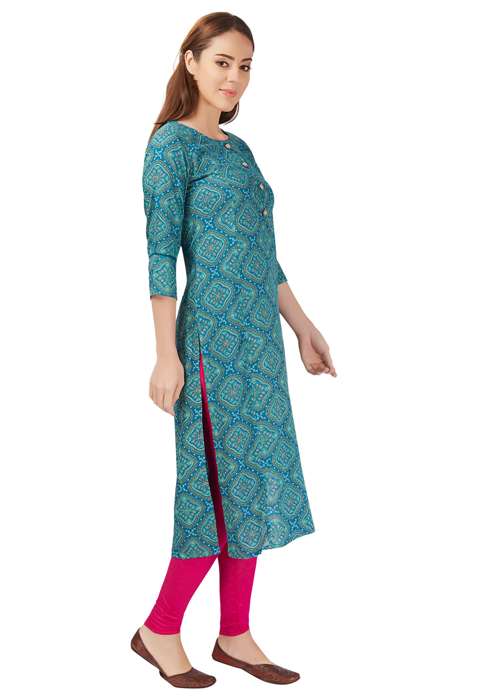 kurta mirror work embroidery diamond motif kurti ethnic women womens collection