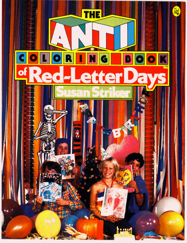The Anti-Coloring Book® of Red Letter Days