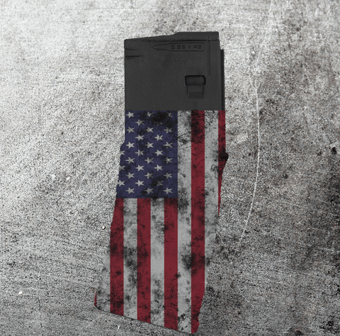 PMAG 10-round - Distressed American Flag