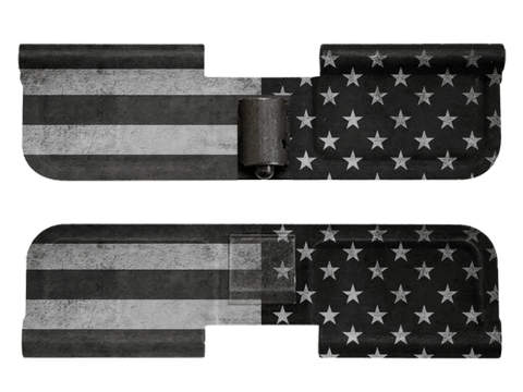 BW American Flag - Ejection Port Dust Cover