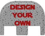 Glock Slide Cover Plate - Design Your Own