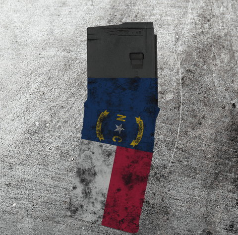 PMAG 30-round - Distressed NC Flag