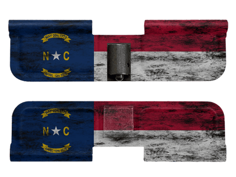 Distressed NC Flag - Ejection Port Dust Cover