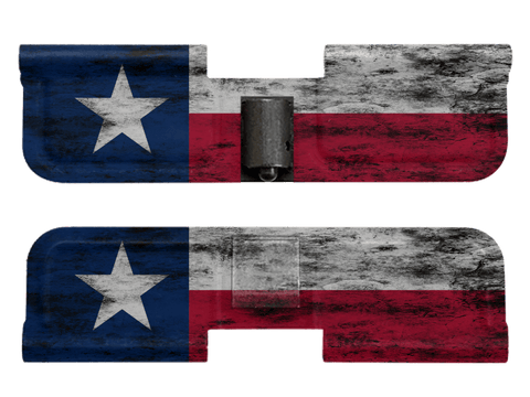 Distressed Texas Flag - Ejection Port Dust Cover