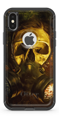 Gas Mask - Iphone Otterbox Defender Case