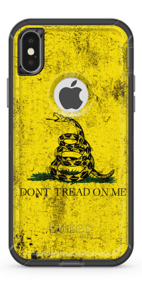 Gadsden Flag- Iphone Otterbox Defender Case