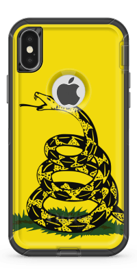 Gadsden Snake- Iphone Otterbox Defender Case