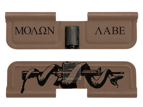 Molon Labe Snake - Ejection Port Dust Cover