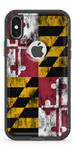 Maryland Flag- Iphone Otterbox Defender Case