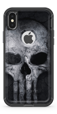 Rough Skull - Iphone Otterbox Defender Case