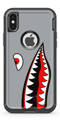 Shark- Iphone Otterbox Defender Case