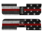 Thin Red American Flag - Ejection Port Dust Cover