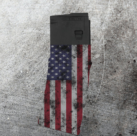 PMAG 30-round - Distressed American Flag