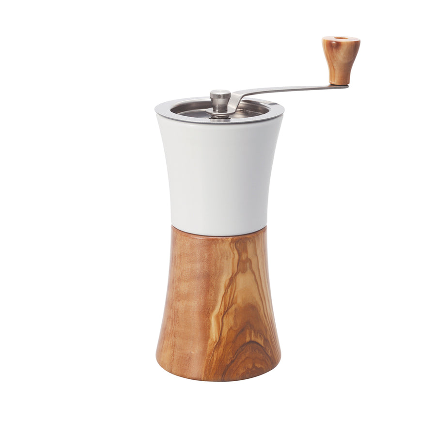 HARIO™ OLIVE WOOD CERAMIC MILL HAND GRINDER