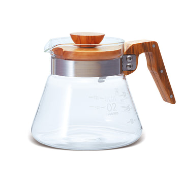 HARIO™ V60 OLIVE WOOD COFFEE SERVER 02 - 600ml