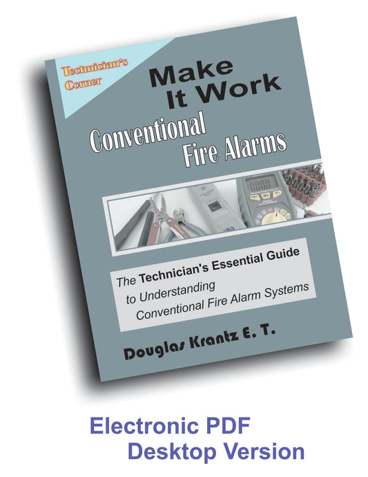 Make It Work - Conventional Fire Alarms - Computer Version