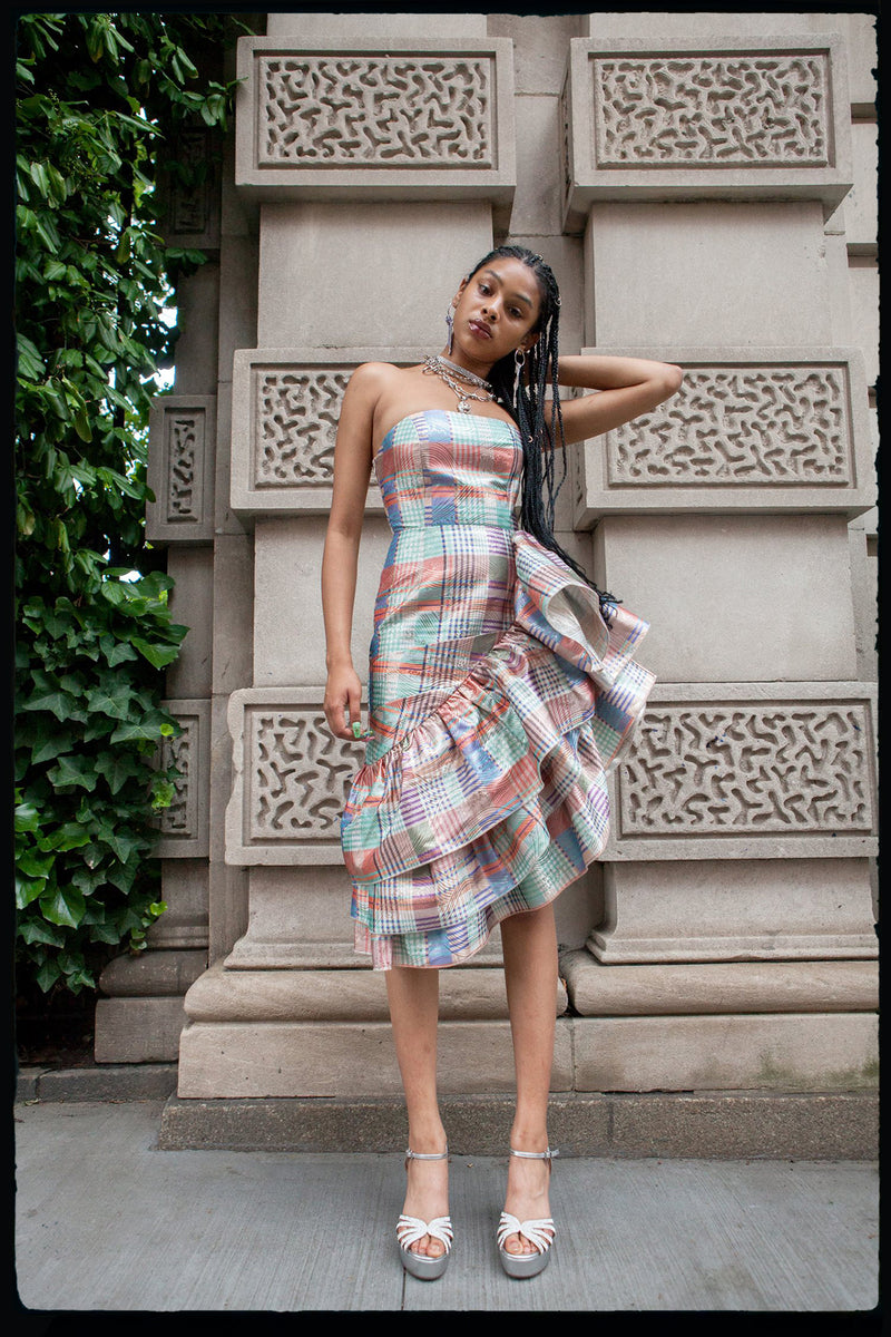 Gingham Flamenco Dress