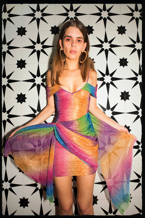 Rainbow B Dress (preorder)