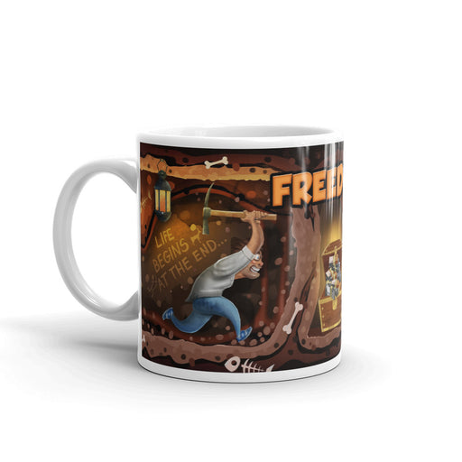 FREEDOM Motivation-Kaffeetasse - 325ml