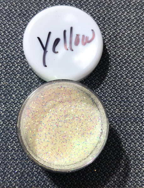 Very Canary UV glitter (1/2oz)