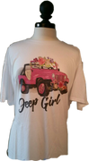 JEEP GIRL SHORT SLEEVE SHIRT
