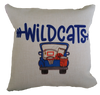 WILDCATS BASKETBALL TRUCK PILLOW