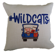 Pillow - Wildcats Basketball Truck