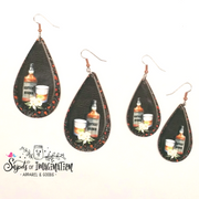 Earrings - Kentucky Bourbon Bottle