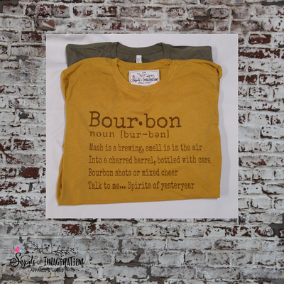 Shirt - Short Sleeve T-Shirt - Bourbon Noun Definition