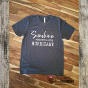 Shirt - Short Sleeve T-Shirt - Sunshine Mixed With A Little Hurricane