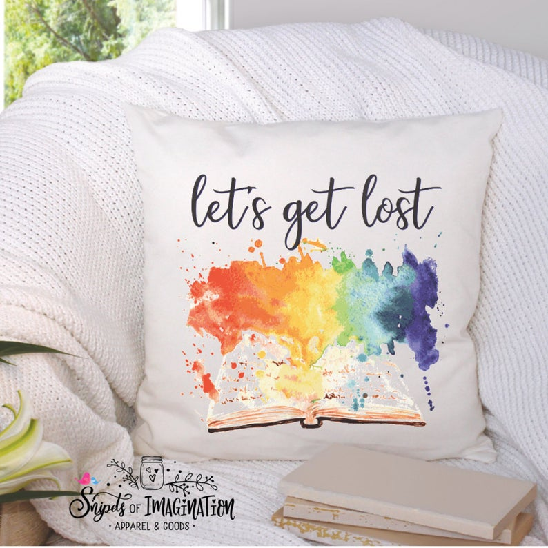 Pillow - Let's Get Lost In - Book