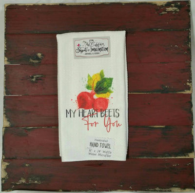 Handtowel - My Heart Beets For You