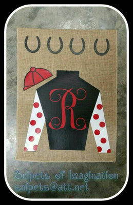Flag - Jockey Silks - Personalized