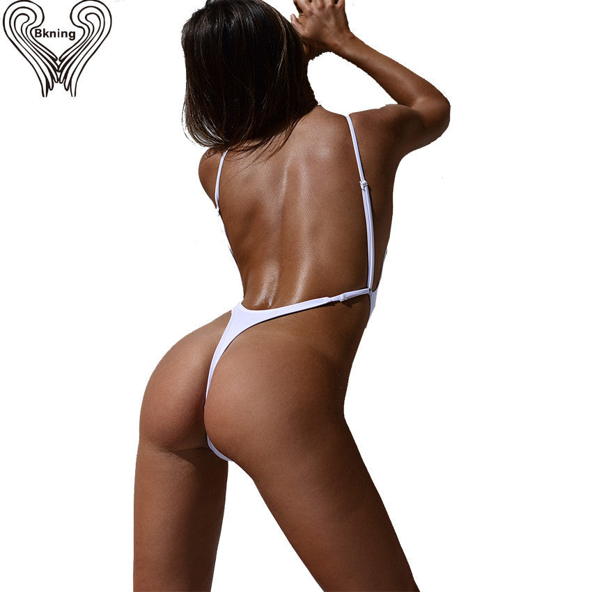 Sexy Thong Swimsuit - One Piece Swimwear