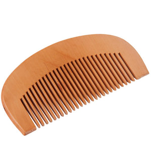 Natural Wide Tooth Wood Comb