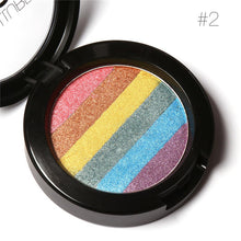 FOCALLURE New Rainbow Highlighter Makeup Shimmer Powder