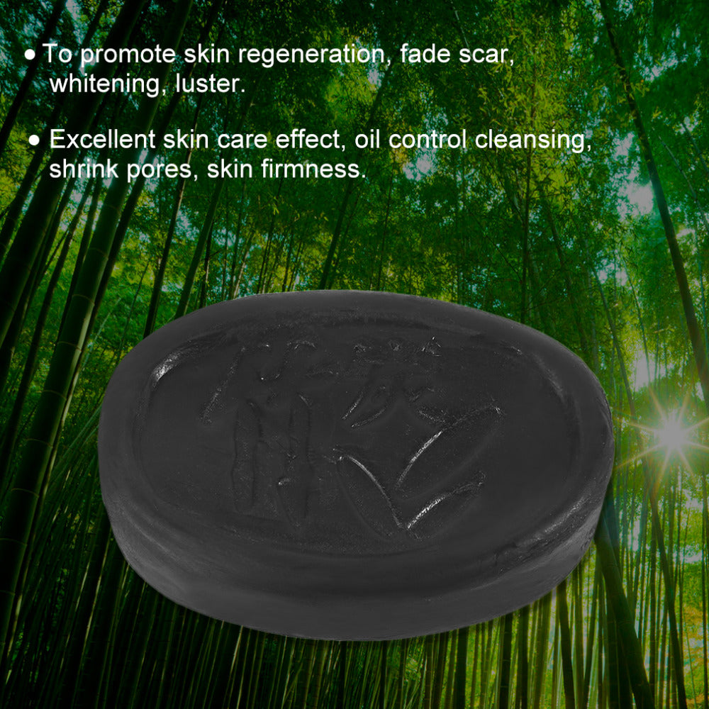 Black Bamboo Charcoal Whitening Skin Care Soap