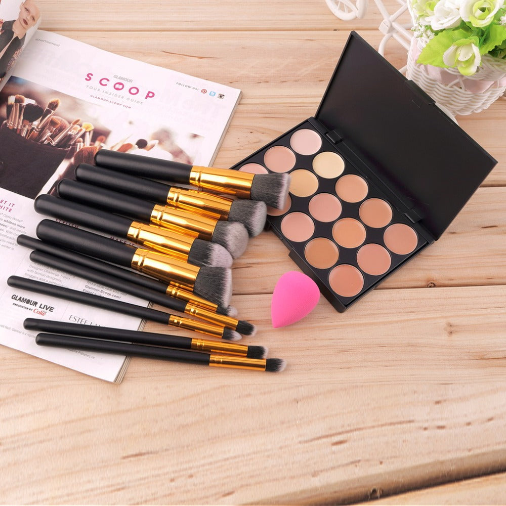 10 pcs Professional Eye Makeup Brush Set